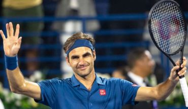 Roger Federer won Dubai and won the title no. 100 in his career