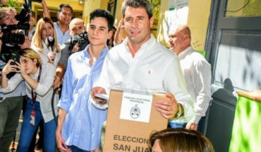 STEP in San Juan: Sergio Uñac is presented as a clear winner