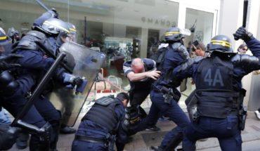Siguen manifestaciones en Francia pese a prohibición y heridos
