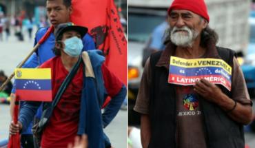 Simpatizantes venezolanos piden a AMLO que apoye a Nicolás Maduro