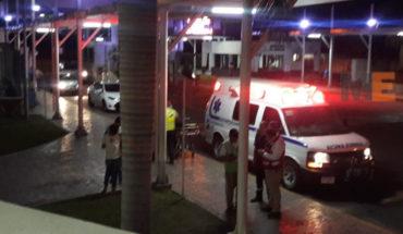 The COBAEM students are hospitalized for dehydration, in Lázaro Cárdenas, Michoacán