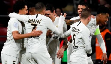 The PSG crushed 4-0 in Dijon and opens away from 17