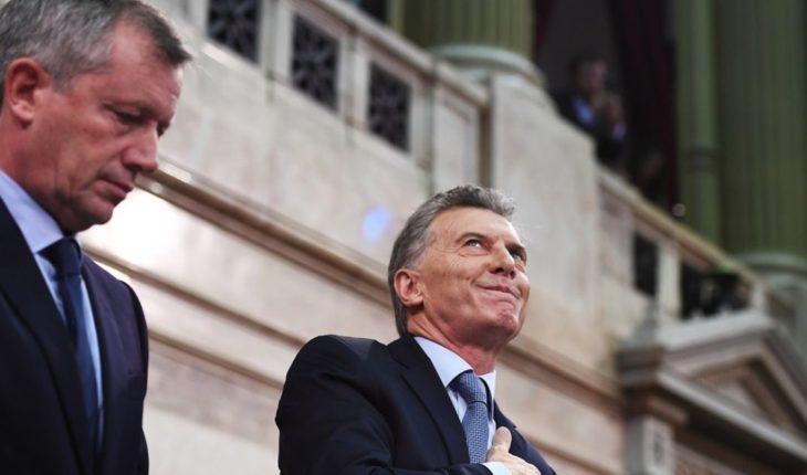 The impact of the discourse of Macri
