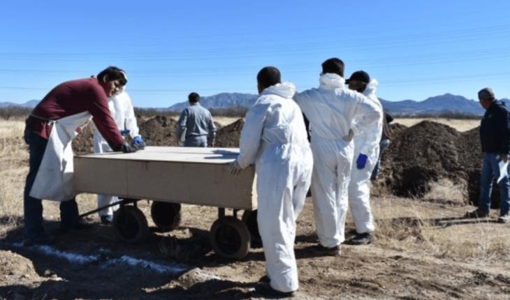 They bury three bodies of newly born unidentified