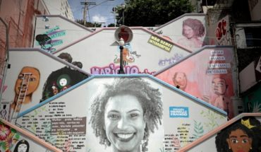 Two police officers arrested on suspicion of the murder of Brazilian activist