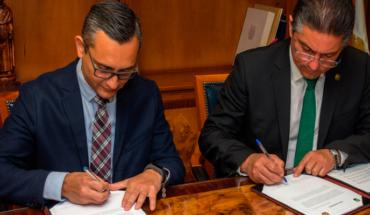 UMSNH y Caja de Ahorro Morelia Valladolid firman acuerdo de colaboración