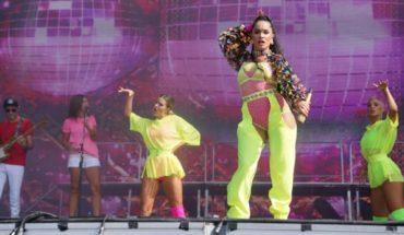 Una brava en el Lollapalooza: así fue el show de Lali Espósito