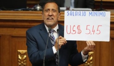 Venezuelan Parliament: public employees paid less than $6 per month