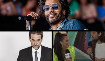 Watch live Lenny Kravitz and Vicentico at the Lollapalooza by Filo.News