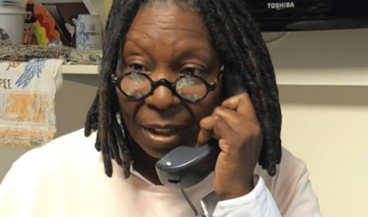 Whoopi Goldberg was on the verge of death; It gave him pneumonia