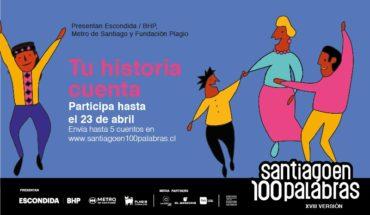 santiago en 100 palabras 2019