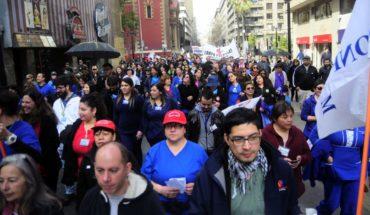 30 organizaciones asistieron ayer a la Marcha por la Salud
