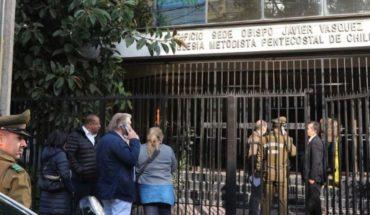 Arrestan a nochero de oficinas de la catedral evangélica tras robo de computadores