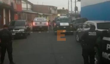 Asesinan a un automovilista en Uruapan, Michoacán