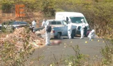 Asesinan al conductor de una camioneta en Quiroga, Michoacán