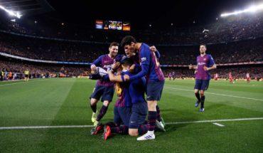 Barcelona vence al Atlético de Madrid y acaricia el campeonato