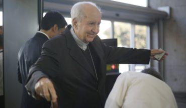 """Cardenal Errázuriz a Fiscalia: """"Es mejor que no haya sacerdotes homosexuales"""""""