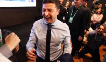 Comediante Volodimir Zelenski es elegido Presidente en Ucrania