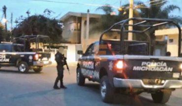 Dejan narcomantas sobre pugna entre cárteles en Apatzingán