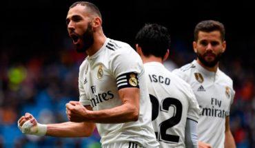 Doblete de Benzema da triunfo al Real Madrid sobre el Eibar