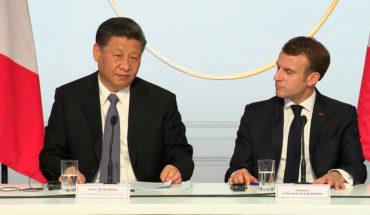 Xi Jinping y Emmanuel Macron en la reunión sobre Gobernanza Global en Paris (26/3/2019). Imágen via EC-Audiovisual Service, © European Union, 2019.
