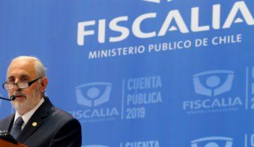 Fiscal Nacional puso a Metropolitano Sur a cargo de investigaciones por corrupción en Corte de Rancagua