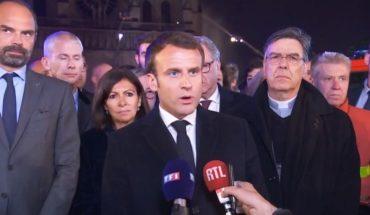 """Francia aseguró que Notre Dame se salvó de la destrucción """"por media hora"""""""
