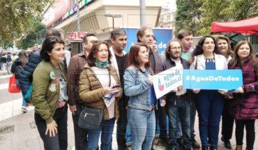 """Girardi: """"Recuperar el agua es el desafío democrático más importante de Chile"""""""