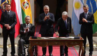 """Gobierno confirma salida definitiva de Chile de Unasur """"por razones de Estado"""""""
