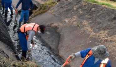 Gobierno de Morelia realiza limpieza y desazolve afín de evitar riesgos durante lluvias