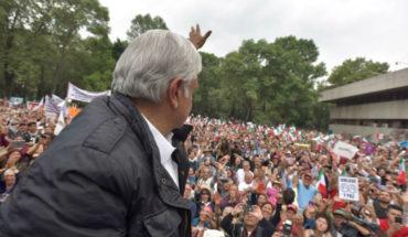 Impiden acceso a simpatizantes de AMLO, formados desde temprana hora en Morelia