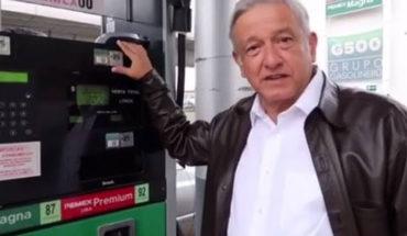 López Obrador anuncia que habrá un sorteo semanal para la verificación de gasolineras en México
