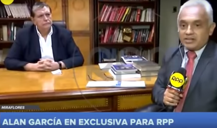 """La última entrevista de Alan García antes de su suicidio: """"Creo en la vida después de la muerte, creo en sitio en la historia del Perú"""""""