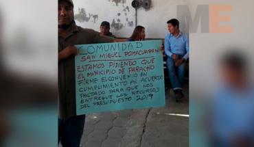 Liberan a regidores, tras acuerdo en Pomacuarán, Michoacán