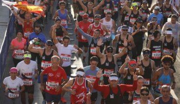 Más de 33 mil personas asistieron a la Maratón de Santiago