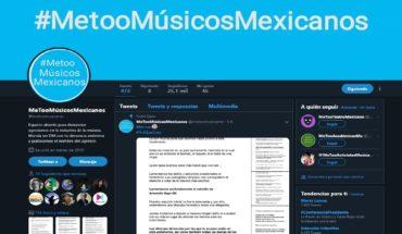 MeTooMúsicosMexicanos suspende su actividad