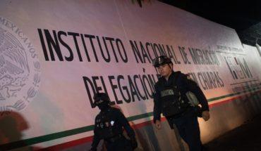 Migración denuncia a cubanos por daños en estación migratoria