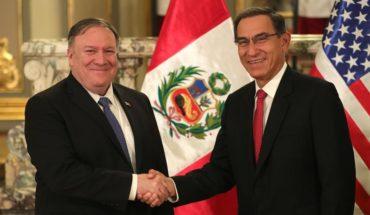 """Pompeo felicita a Perú por su """"generosidad"""" al recibir a 700.000 venezolanos"""