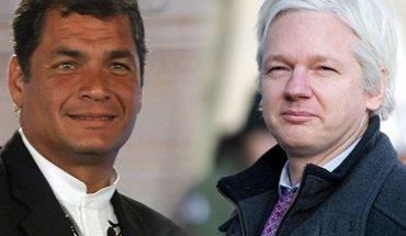 """Rafael Correa: """"Moreno ofreció entregar a Assange por apoyo financiero de EE.UU."""""""