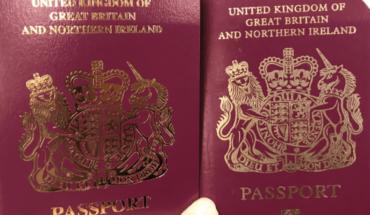 "Reino Unido borra ""Unión Europea"" de sus nuevos pasaportes"