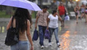 Tormentas puntuales muy fuertes a intensas en el sureste del país y la península de Yucatán