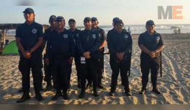 Tras un fuerte operativo, localizan a niño de 6 años reportado como extraviado en Playa Azul