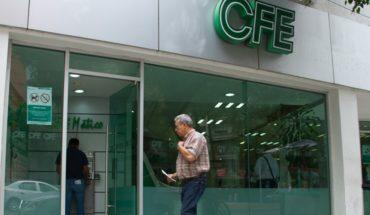 Una quinta parte de mexicanos le debe luz a CFE