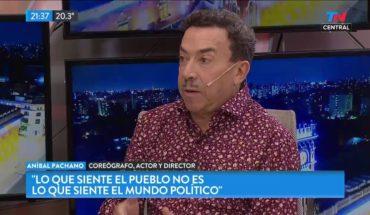 "Aníbal Pachano: ""Imagino a Tinelli en la política"" | TN CENTRAL"