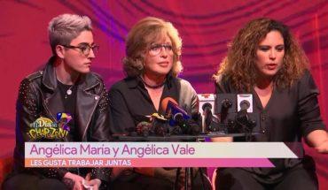 Angélica María y Angélica Vale primera vez juntas | Vivalavi