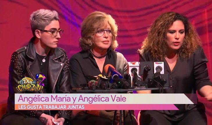 Angélica María y Angélica Vale primera vez juntas   Vivalavi