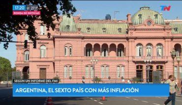 Argentina, el sexto país con más inflación