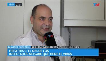 Con Bienestar: el 60% de los infectados con Hepatitis C no saben que tienen el virus