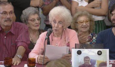 El anuncio de Abuelas de Plaza de Mayo por la recuperación de la nieta 129