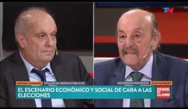 El cruce de Julio Bárbaro y Hernán Lombardi en DESDE EL LLANO